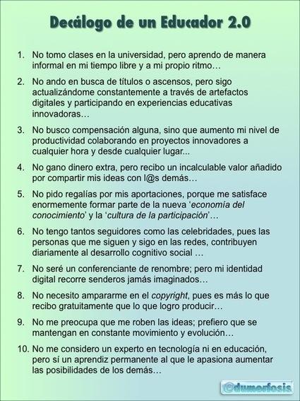 ¿CÓMO ES UN DOCENTE 2.0? | Contenidos Educación 2.0 | Scoop.it