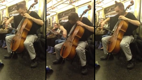 When is it okay to play your cello on a train? | Arts Administration | Scoop.it