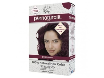 Buy Purenaturals Burgundy 100% Natural Hair Color- Kit Online | Herbal and Natural Hair Color | Scoop.it
