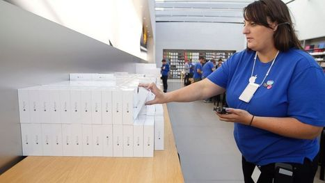 Apple Reports Record 39.3 Million iPhone Sales | Mobile Business News | Scoop.it