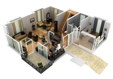 2d 3d House & Floor Plan Designs India | Website Design & Development Company-Netgains | Scoop.it