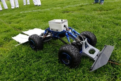 Military robot deploys CO2 to lure ticks to their doom | leapmind | Scoop.it
