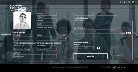 Looking for Talent by Mazars : une expérience marque employeur originale et immersive - Blog du Modérateur | Marketing RH - Marque Employeur - Recrutement Digital | Scoop.it