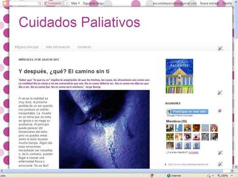 Blog de Cuidados Paliativos | Blogs Escuela de Pacientes | Scoop.it