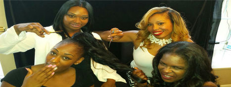 A superb natural hair salon - Melessa's Glam Squad at the Weave Palace | Melessa's Glam Squad | Scoop.it