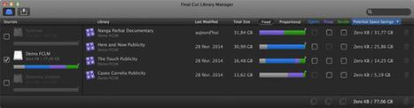 Final Cut library manager, outil FCP X.1 très pratique ! | Documentaires - Webdoc - Outils & création | Scoop.it