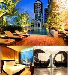 Enjoy Overlooking the Breathtaking Views of Bangkok Skyline at Eastin Grand Sathorn. | Hotel in Asia | Scoop.it