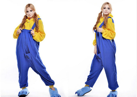 New 2014 minion adult onesies costumes | adult onesies sale-pajama.com | Scoop.it