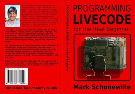 Book 'Programming LiveCode for the Real Beginner' Is Available Again! | livecode | Scoop.it