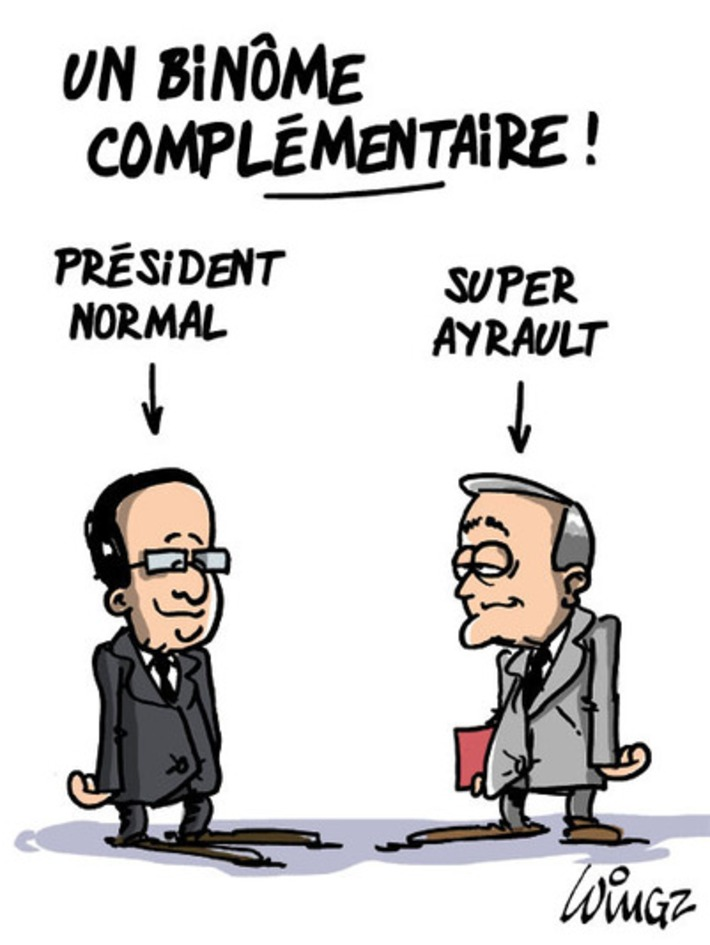 Jean-Marc Ayrault nommé Premier Ministre | Baie d'humour | Scoop.it