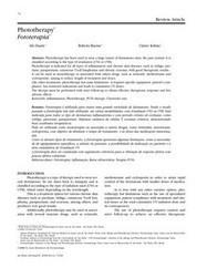 Phototherapy* Fototerapia* - SciELO | Cromoterapia | Scoop.it