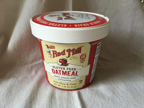 here's something new (#004) -- Bob's Red Mill Oatmeal Cup | GlutenFreeScoop | Scoop.it