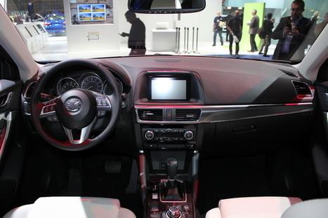 Mazda CX-5 restylé : qualité en hausse - En direct du salon de Los Angeles 2014 | Mazda | Scoop.it