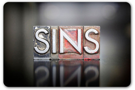 6 deadly sins of nonprofit writing | Public Relations & Social Media Insight | Scoop.it