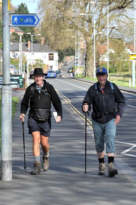 Adventurer stops off in Worcester in 1000 mile trip to Spain - Evesham Journal   The Way of Santiago   Scoop.it