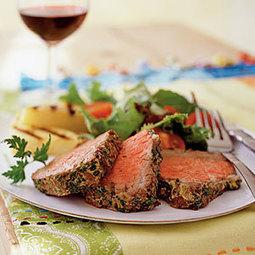 Beef Tenderloin with Mustard and Herbs | MyRecipes.com | Ravish m.e. | Scoop.it