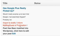 Guest Blogging WordPress Plugin from MyBlogGuest | Boosting Wordpress | Scoop.it