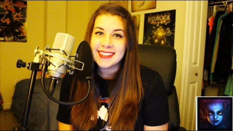 115 League of Legends Champions, Voiced Perfectly By One Girl | League of Legends | Scoop.it