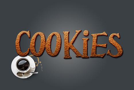 Sweet Cookies Text Effect in Photoshop | Lorelei Web Design | Photoshop Text Effects Journal | Scoop.it
