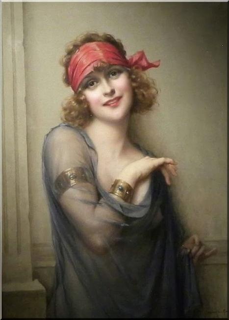 Arte XIX: El pañuelo rojo   El Arte del siglo XIX   Scoop.it