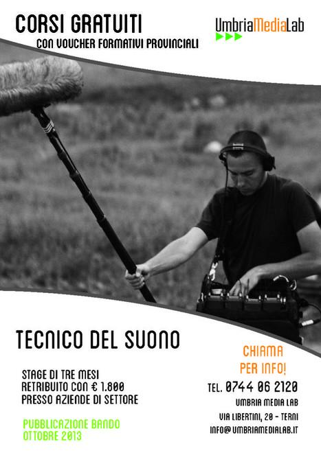 Corso di Tecnico del Suono - Umbria Media Lab   Corsi di formazione a Terni   Scoop.it