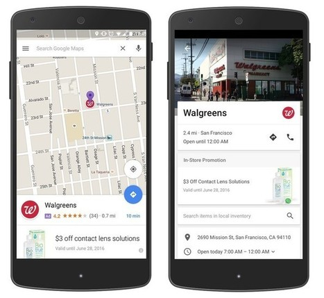 Il y aura bientôt de la pub géolocalisée dans Google Maps | Digital marketing and communication | Scoop.it