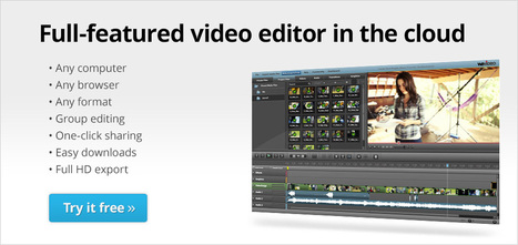WeVideo - Collaborative Online Video Editor in the Cloud | 21st Century Tools for Teaching-People and Learners | Scoop.it