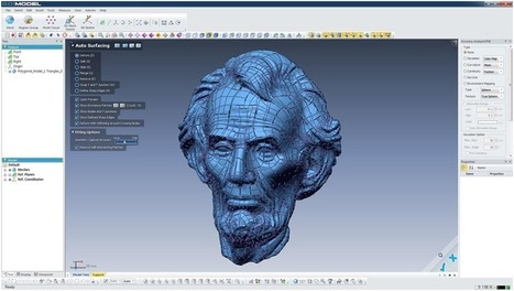 3D Systems Delivers Go!MODEL for Creaform's Go!SCAN 3D Scanner | Social Mercor | Scoop.it