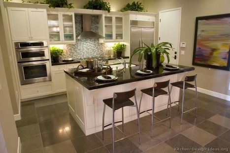 Transitional Kitchen Design - Cabinets, Photos, & Style Ideas | LBM | Scoop.it