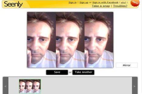 Seenly, tómate una foto con tu webcam, aplicale un original efecto y compártela | lina marcela angulo leon | Scoop.it