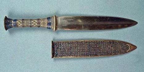 Científicos aseguran que material del puñal de Tutankamón proviene de meteorito | Correo del Orinoco | Egiptología | Scoop.it