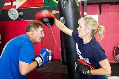 Kimberly Berg gives Parkinson's the old one, two with boxing classes | #ALS AWARENESS #LouGehrigsDisease #PARKINSONS | Scoop.it