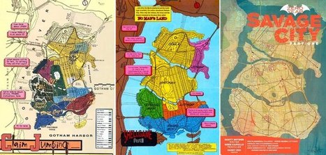 The cartographer who mapped out Gotham City | Archivance - Miscellanées | Scoop.it
