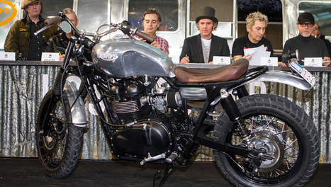 """Cafe Racer of the year"" diventa un Talent Show - OmniMoto.it 