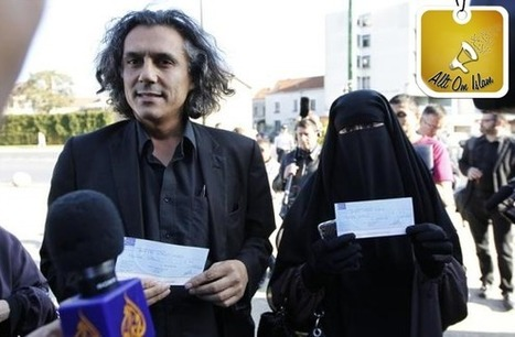 The man in the picture is Rachid Nekkaz, a... | Women and Gender | Scoop.it