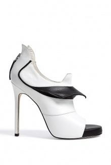 Monochrome Prey Open Toe Stiletto Booties by Camilla Skovgaa | Fun Videoa | Scoop.it