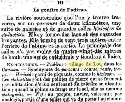 #challengeAZ #Gallica sur Lorand: P comme Padirac | GenealoNet | Scoop.it