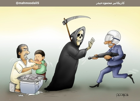 Grim Reaper keeps Al-Khalifa terrorists from killing Ahmed Nasser.....   Human Rights and the Will to be free   Scoop.it
