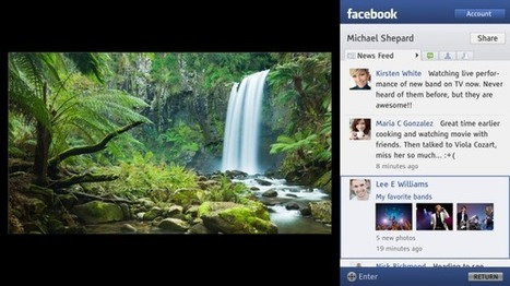 Sony's new TV update goes social | Sony | Scoop.it