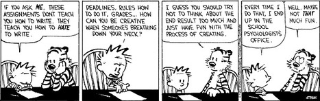 Assignments kills creativity | Educational cartoons and jokes | Scoop.it
