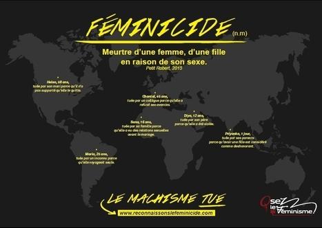 Reconnaissons le féminicide   Egalité fille-garçon au lycée   Scoop.it