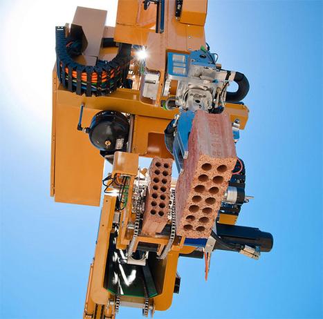 Un robot poseur de briques pour construire une maison pleine taille en deux jours | Immobilier | Scoop.it