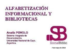 Alfabetización informacional y bibliotecas   Bibliotecas escolares y ...   ALFIN Iberoamérica   Scoop.it
