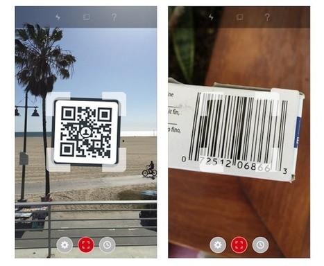 Dos aplicaciones gratuitas para escanear códigos QR desde tu smartphone | Recull diari | Scoop.it