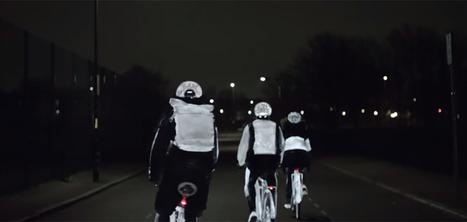 Volvo crée une peinture invisible qui éclaire les cyclistes la nuit | Vous avez dit Innovation ? | Scoop.it