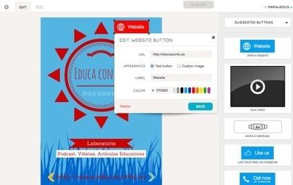 Aumenta tus materiales educativos con Layar | Geolocalización y Realidad Aumentada en educación | Scoop.it