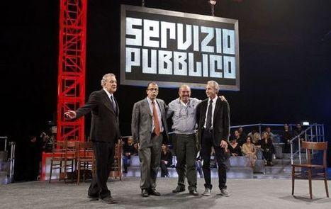 In diretta a Servizio Pubblico Travaglio litiga con Santoro e lascia lo studio   La Prima Pagina.it   Scoop.it