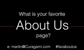What Is Your Favorite About Us Page? via @Curagami #favaboutus | Design Revolution | Scoop.it