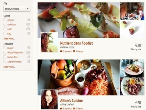 Kitchensurfing : faites venir un chef à domicile   Food, Drink & Geek   Scoop.it