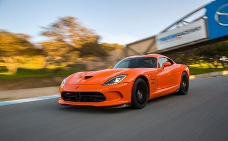 2014 SRT VIPER TA ~ Grease n Gasoline | newly released cars | Scoop.it